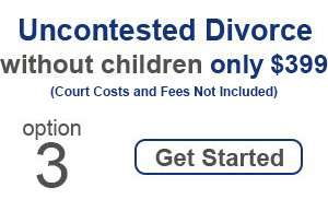 Uncontested Divorce Without Children